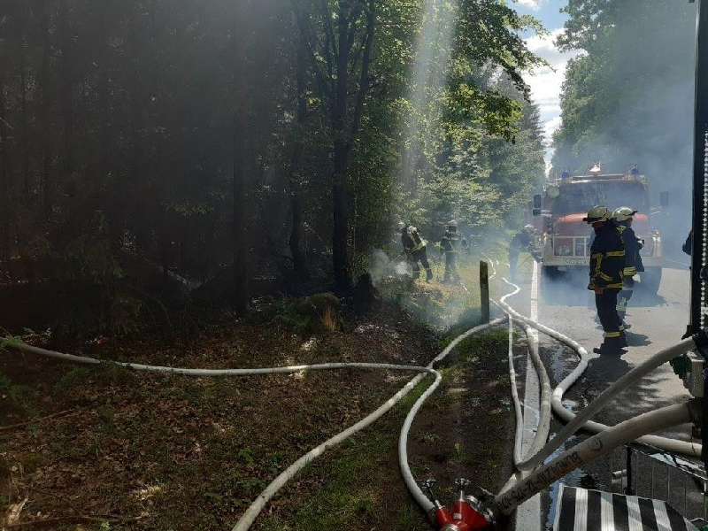 Brandeinsatz  B2
